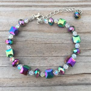 Jewelry - Peacock Austrian Crystal Bracelet